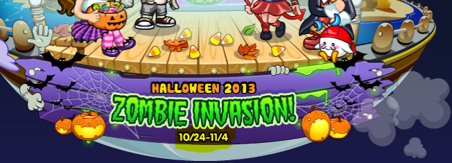 Zombie Invasion Event Timeframe