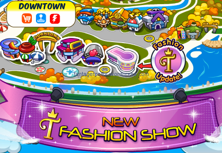 new fashion show world map