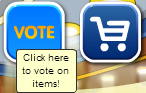 voting feature where we can vote on items that you want to see featured in Vintage Gold for sale